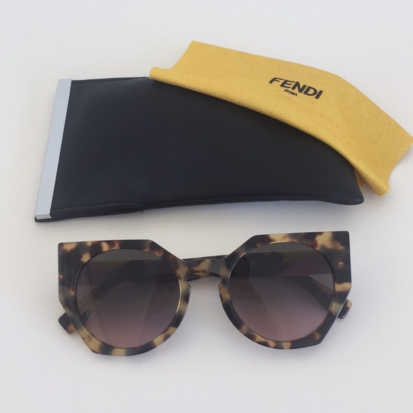 e0e8cfcaa6 Fendi Accessories | Ff 0151s Tortoise Cat Eye Sunglasses | Poshmark